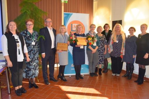 Mokyklų edukacinių erdvių konkurso nugalėtojams įteikti apdovanojimai