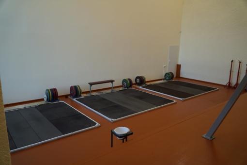 Duris atvėrė nauja sunkiaatlečiams skirta sporto salė