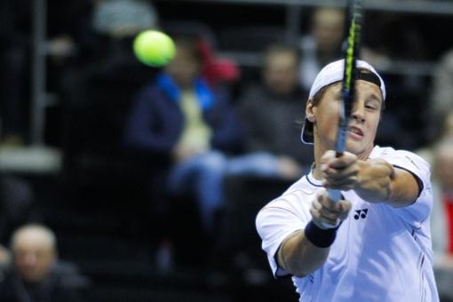 Tenisininkas R. Berankis pasaulio reitinge nukrito į 131-ąją vietą