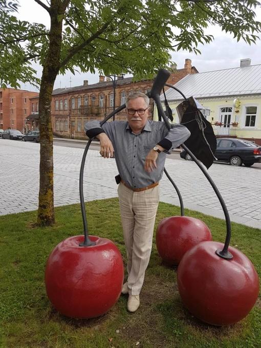 Panevėžio miesto liberalų kandidatas į merus – aplinkosaugininkas Valdemaras Jakštas
