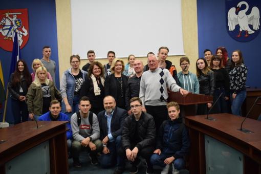 Svečiavosi jaunimas iš Lenkijos