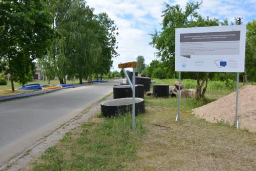 Varėnos rajone intensyviai vyksta geriamojo vandens tiekimo ir nuotekų tvarkymo sistemų renovavimas ir plėtra