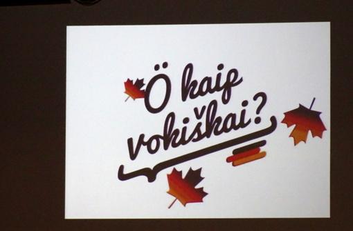 Vokiečių kalbos savaitė Kelmėje