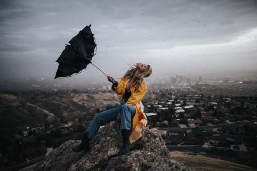 Langas, lietus, liūdesys