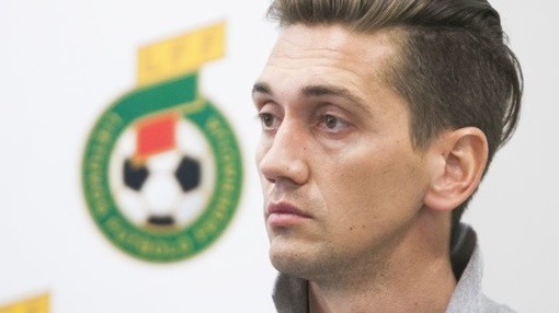 """Futbolininko karjerą baigęs Deividas Česnauskis dirbs Vilniaus """"Žalgiryje"""""""