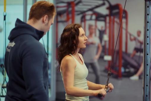 Itin jaunatviška Livija Gradauskienė visas problemas sprendžia sporto salėje
