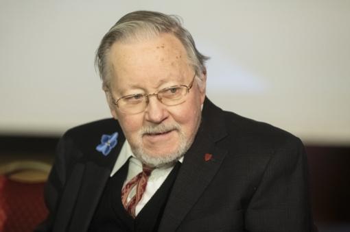 Prof. V. Landsbergis: džiaugiuosi, kad įvyko šis eksperimentas