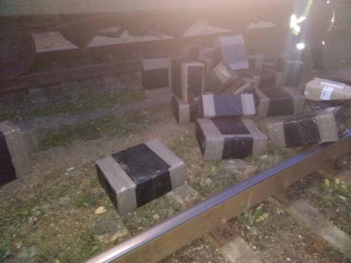 Iš Baltarusijos traukiniu gabentos ir trąšos, ir kontrabandinės cigaretės