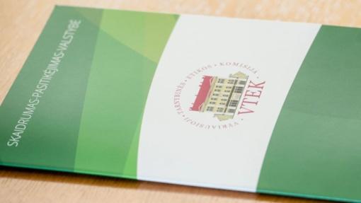 VTEK aiškinsis, ar VSAT Pagėgių rinktinės Uosto pasienio užkardos vadas V. Sakevičius nepažeidė įstatymo