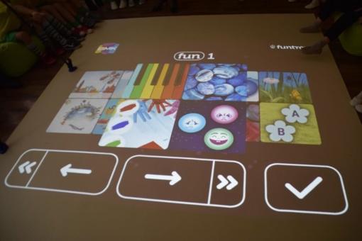 "Lopšelyje-darželyje ""Žilvitis"" – interaktyvios grindys"