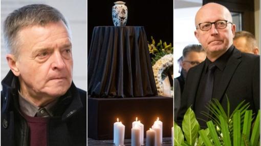 Lietuva atsisveikina su A. Storpirščiu: į paskutinį susitikimą rinkosi aktoriaus kolegos ir draugai
