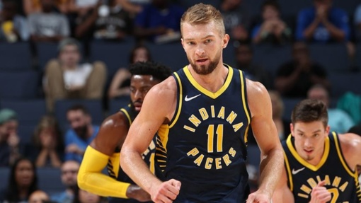 """Krepšininkas D. Sabonis rungtynėse su """"Rockets"""" pelnė 11 taškų"""