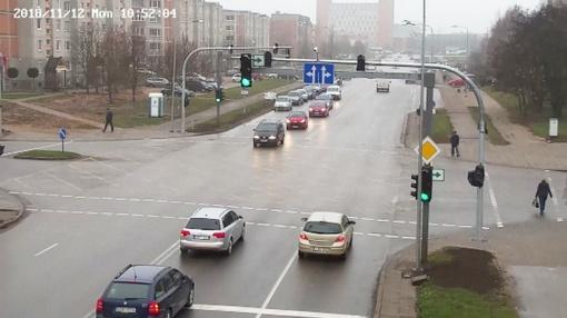 Dėmesio: įjungiamas šviesoforų postas Gegužių – Lyros – Gytarių gatvių sankryžoje