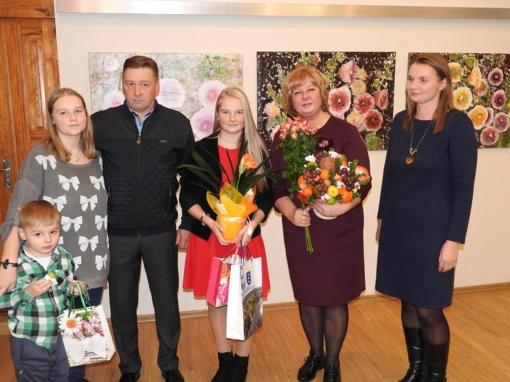 Ignalinos krašto muziejuje pristatyta Miglės Kajėnaitės tapybos darbų paroda