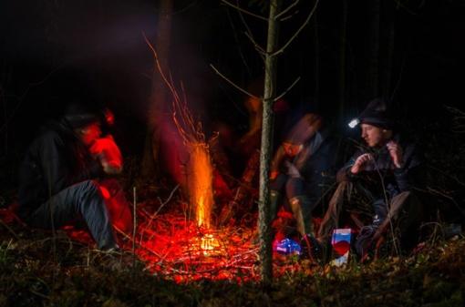 Pėsčiųjų žygis lapkričio tamsoje – bet kokiu oru