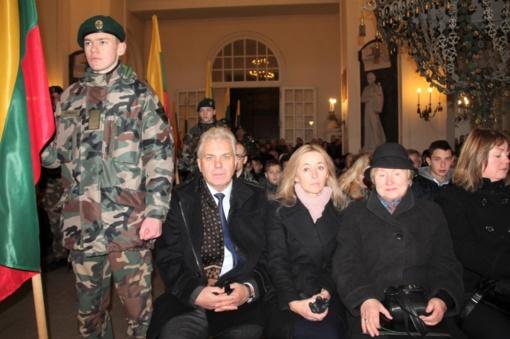 Paminėtas nenugalėtas ir neužmirštas partizanas Antanas Kraujelis