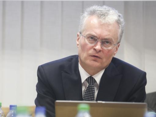 G. Nausėda susitiko su R. Karbauskiu: tikiuosi didžiausios naudos Lietuvai