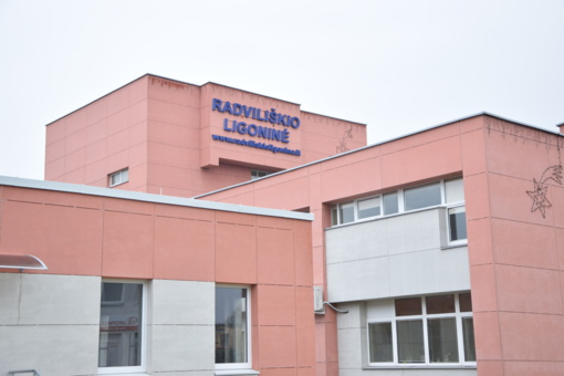 Radviliškio ligoninėje COVID-19 infekcija sergančių pacientų skaičius ir toliau auga
