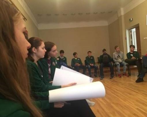 Moksleiviai mokosi pažinti valstybę