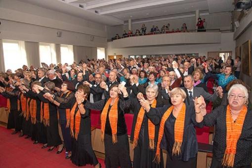 Radviliškio TAU dalyvavo penktajame Trečiojo amžiaus universitetų chorų ir ansamblių festivalyje