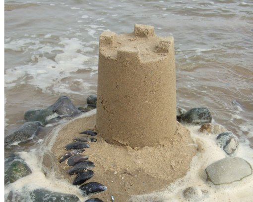 Statyti ant smėlio