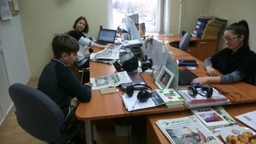 Pasimatuoti naujienų portalo reporterio kėdę neskaudėjo