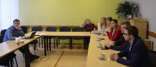 Savivaldybės jaunimo reikalų taryba tobulina kompetencijas