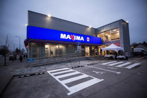 """Prienuose atidaryta atnaujinta """"Maximos"""" parduotuvė"""