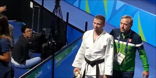 O. Bareikis pasaulio neįgaliųjų dziudo čempionate iškovojo tris pergales