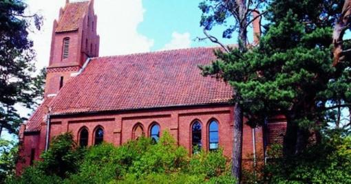Ruošiamasi restauruoti Evangelikų liuteronų bažnyčią Nidoje