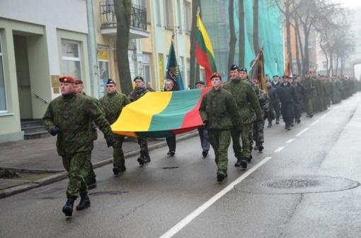 Lietuvos kariuomenės atkūrimo šimtmetis Šiauliuose