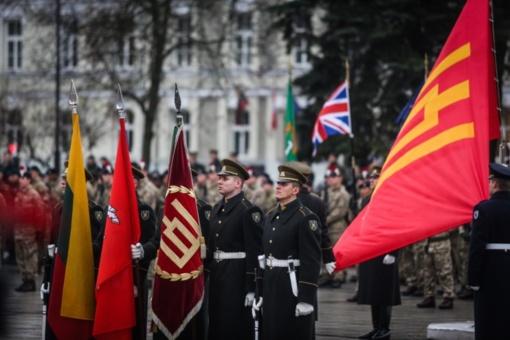 Atkurtai Lietuvos kariuomenei 100-as – renginių metu bus eismo ribojimų