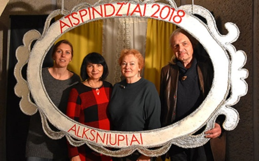 """Į Alksniupius teatro mėgėjus sukvietė mėgėjiškų teatrų šventė """"Atspindžiai"""""""
