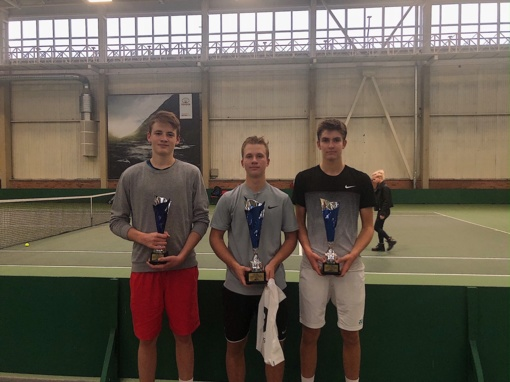 Šiauliuose paiškėjo sezono pajėgiausi jaunieji tenisininkai