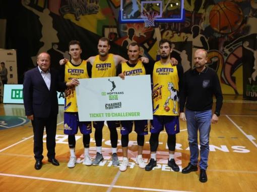 Tarptautinis 3x3 turnyras Garliavoje: triumfavo Rygos profesionalai ir Lapių moksleiviai