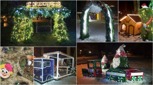 """Druskininkai kviečia kurti tradicinį """"Kalėdinių eglučių parką"""""""