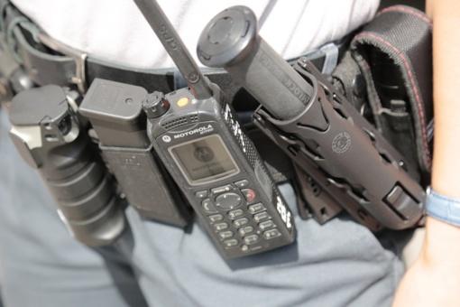 Bendrovės seife aptikta ginklų