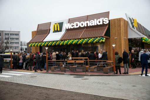"""""""McDonald's"""" investavo beveik 1 milijoną eurų į naujo restorano Marijampolėje statybas ir sukūrė 40 darbo vietų"""