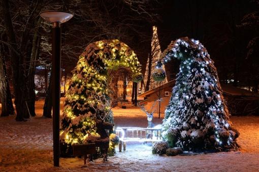 Kalėdinis sezonas prasideda Druskininkuose. Ko tikėtis atvykus į kurortą?