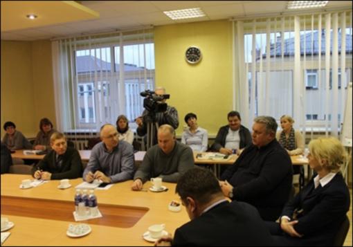 Susitikimas su Kupiškio darbdavių klubo nariais