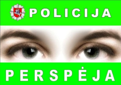 Utenos policija įspėja