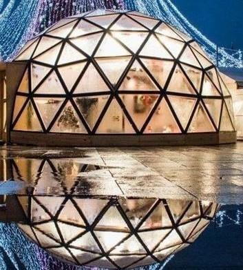 Šventiniame kupole – pasakos mažiesiems, kalėdinės dirbtuvės ir kita įdomi veikla