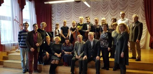 Jaunaisiais Jonavos talentais žavėjosi kultūros programų rėmėjai iš Suomijos