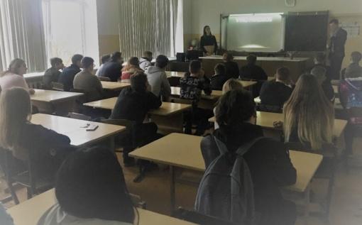 Lytiškumo ugdymo paskaitos Šiaulių rajono mokyklose