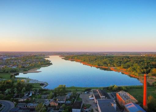 Talkšos ežero pakrantė taps šiauliečių laisvalaikio ir poilsio centru