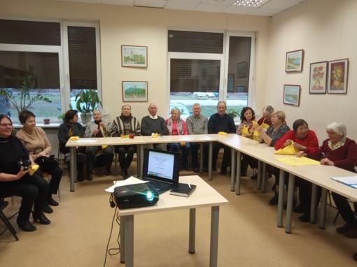 Lankėsi Lieporių bendruomenės surengtoje popietėje apie atliekų rūšiavimą