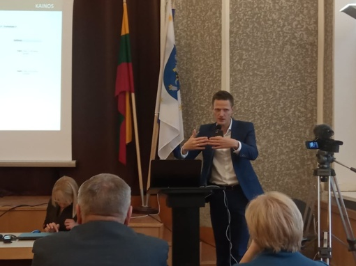 ŠRATC darbuotojai lankėsi paskaitoje apie atliekų tvarkymo tendencijas Lietuvoje