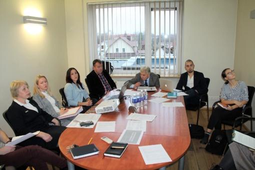 Utenos jaunimo reikalų tarybos posėdyje