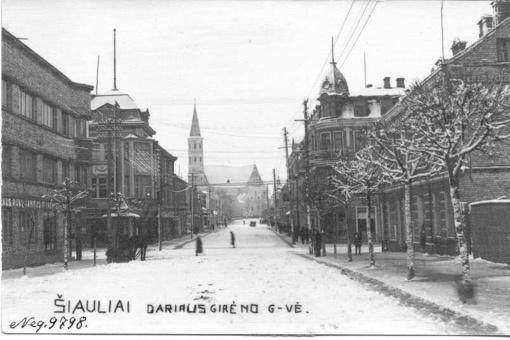 Moderniajai Šiaulių miesto savivaldai – šimtas metų