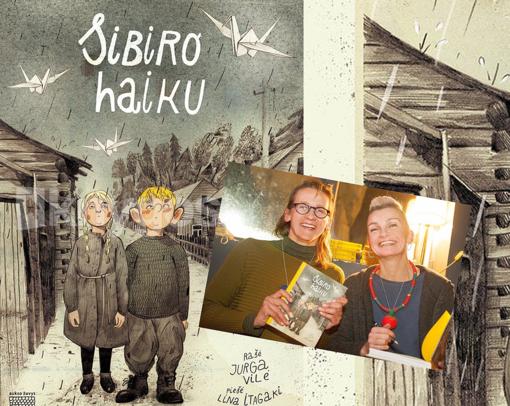 """""""Sibiro haiku"""" rašytojos kviečia vaikus į kūrybines dirbtuves"""
